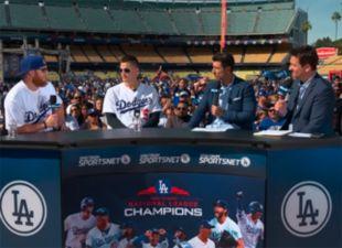 Dodgers FanFest: Corey Seager & Justin Turner