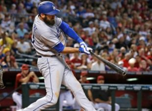 Van Slyke's Homer Hands Dodgers The Win Over The D-Backs