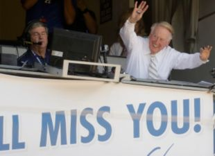 Vin Scully's Final Farewell