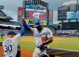Dodgers win 6-0 against the Mets