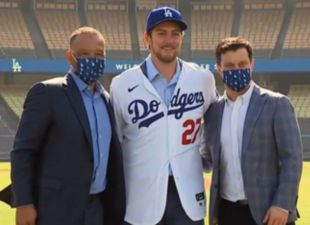 Dodgers Introduce Trevor Bauer