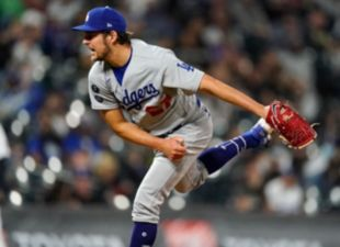 Bauer Dominant in Dodger Debut