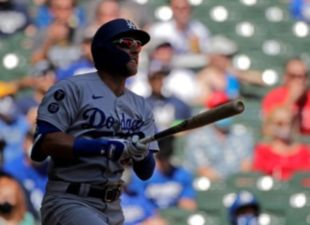 Beaty, Dodgers Slam Brewers