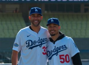 Dodgers Introduce Mookie Betts and David Price