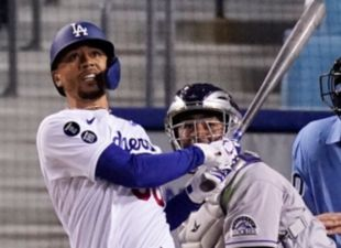 Betts, Dodgers power past Rockies