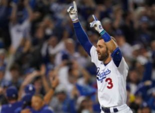 Taylor's walk-off home run sends Dodgers to NLDS