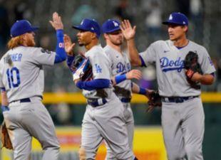 Dodgers defeat Rockies 11-6