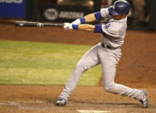 Lux Homers Twice, Dodgers Top D-backs