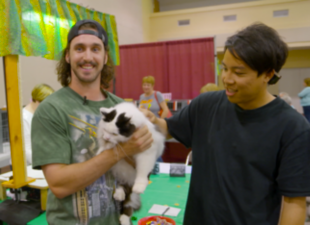 Backstage: Tony 'Cat Man' Gonsolin