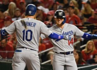 Dodgers def. Nationals 10-4 in Game 3 of NLDS