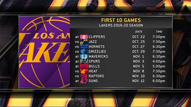 Spectrum SportsNet | Los Angeles Lakers, Galaxy and Sparks