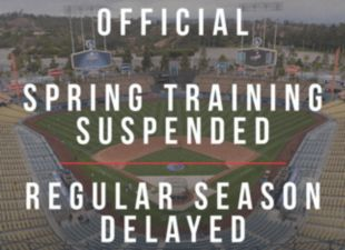 MLB suspends spring training, delays Opening Day