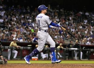 Pollock, Dodgers power past D'Backs