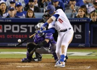 Pollock, Dodgers dominate Rockies