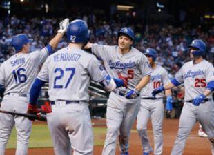 Dodgers defeat Dbacks 3-1