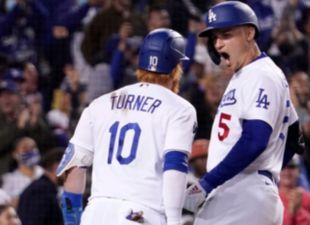 Four-homer eighth inning lifts Dodgers over Padres