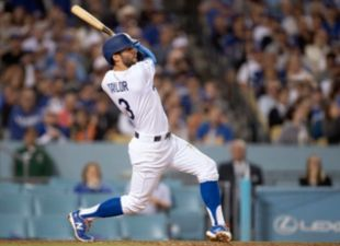 Taylor, Dodgers Relentless at Home